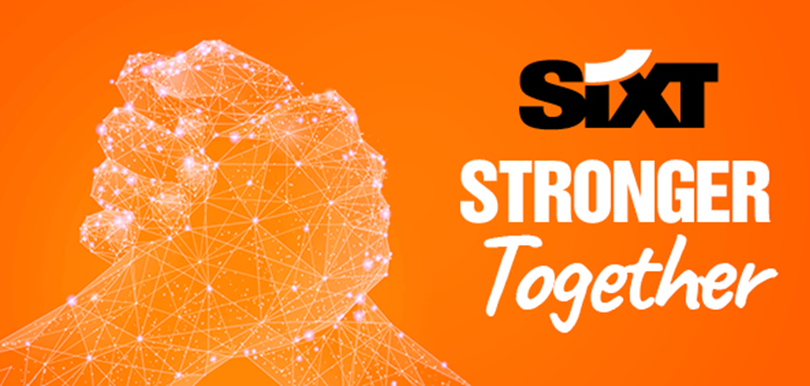 SIXT TOGETHER STRONGER