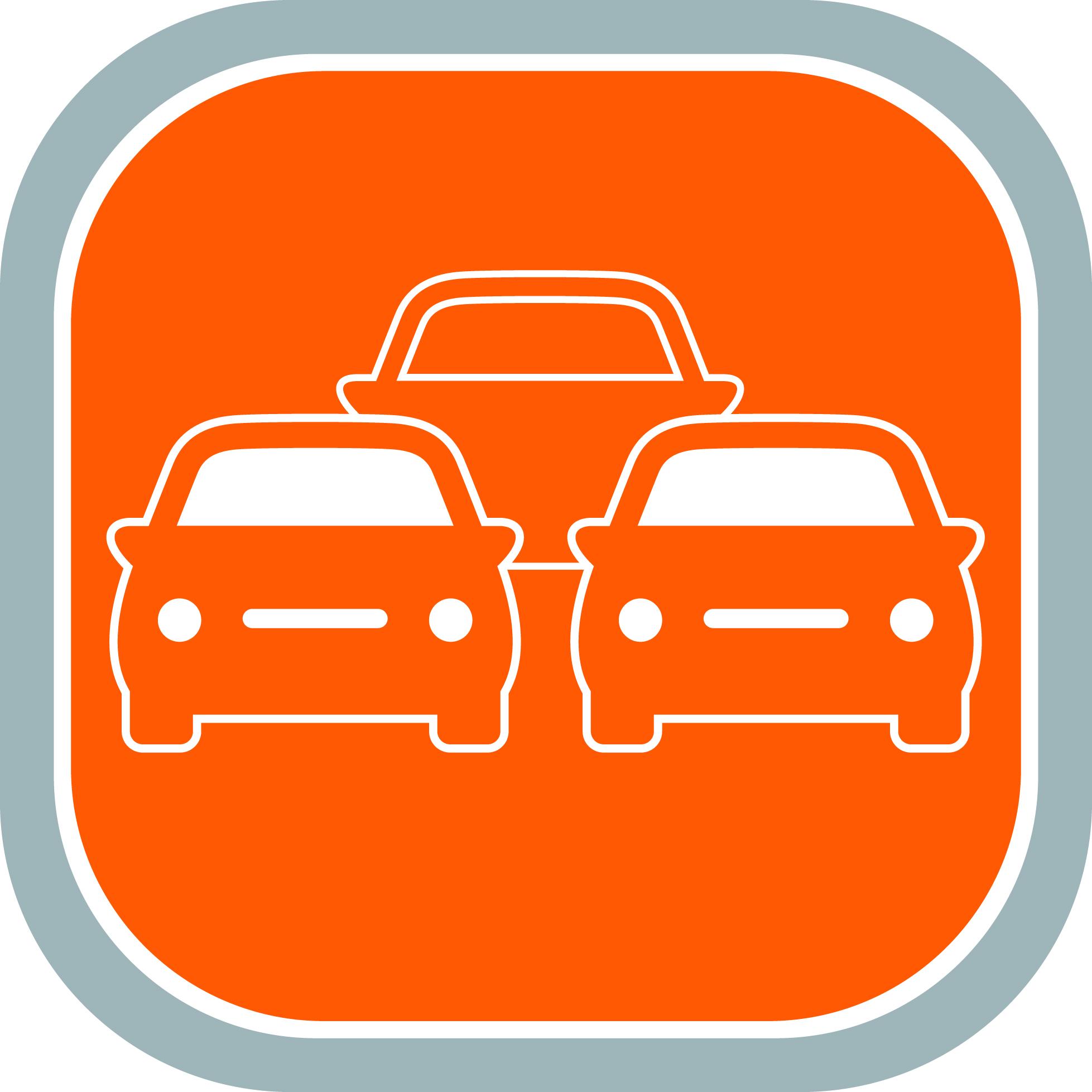 Náhradní vozidlo logo