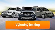 Výhodná nabídka leasingových vozů